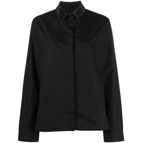 Haider Ackermann Shirt met edelstenen - Zwart