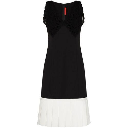 Commission Mouwloze midi-jurk - Zwart