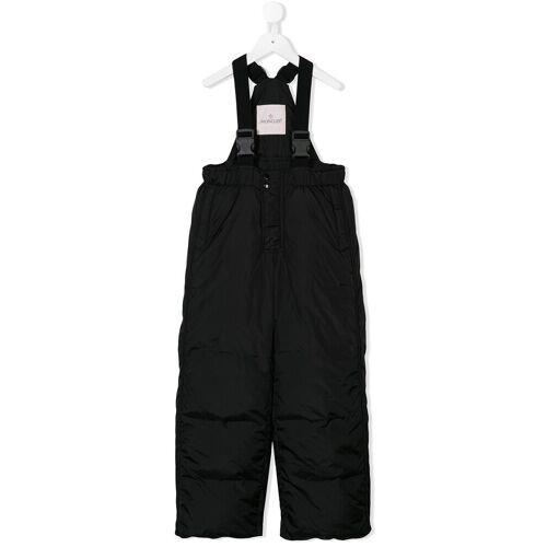 Moncler Enfant padded overalls - Zwart