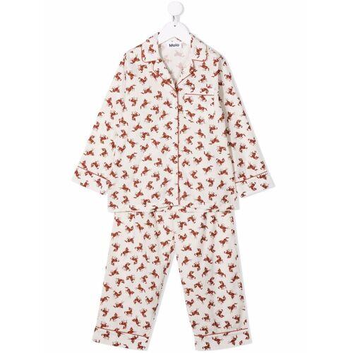 Molo Tweedelige pyjama set - Nude