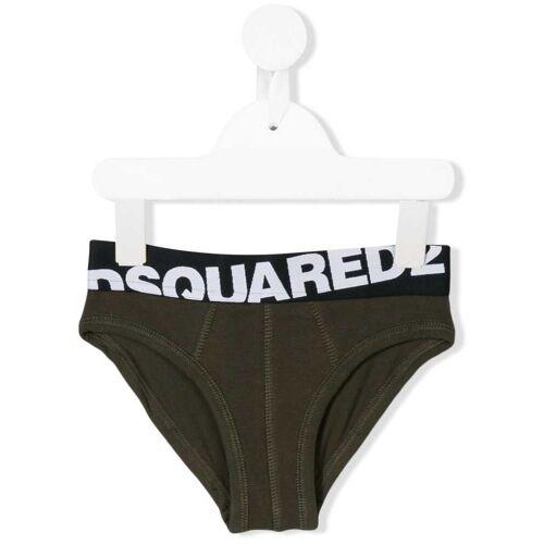 Dsquared2 Kids logo ondergoed - Groen