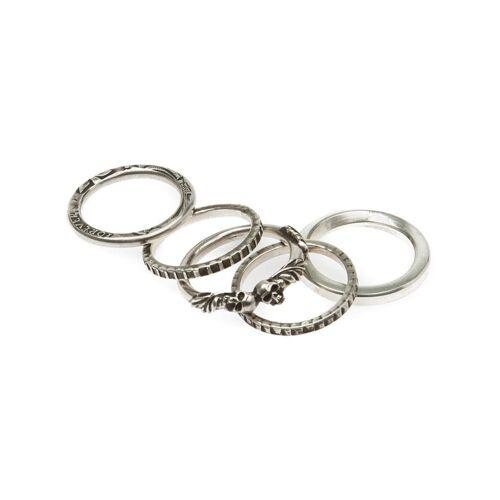 Werkstatt:München gestapelde ringen - Metallic