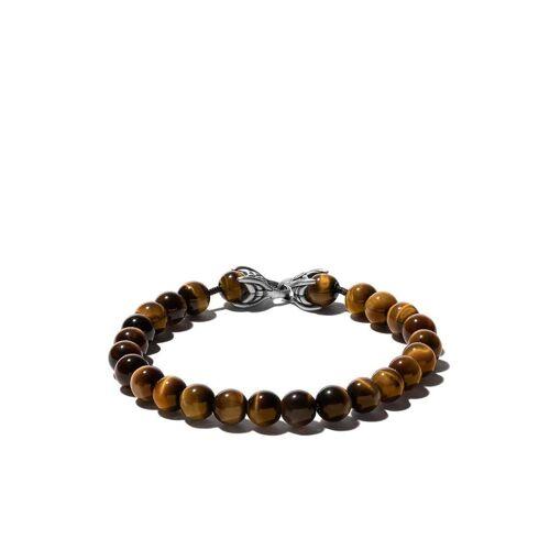 David Yurman Spirituele kralen tijgeroog armband - Bruin