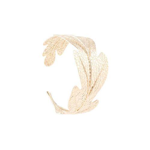 Karen Walker Armband met bladeren - Goud