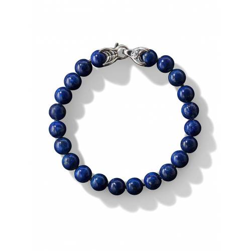 David Yurman Armband met spirituele kralen - Blauw