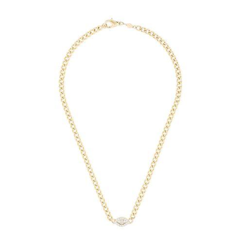 Nialaya Jewelry Choker halsketting - Goud