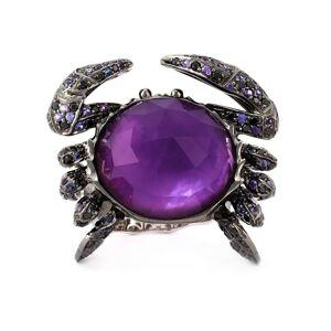Stephen Webster 'Crab Crystal Haze' ring - Metallic