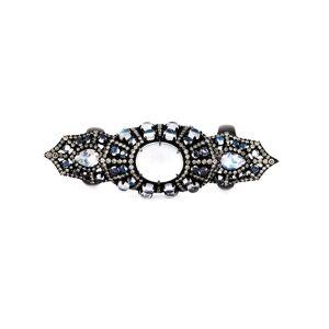 Monan large Gothic style ring - Zwart