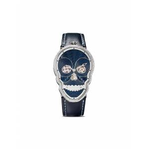Fiona Kruger Diamanten horloge - BLUE / BLACK