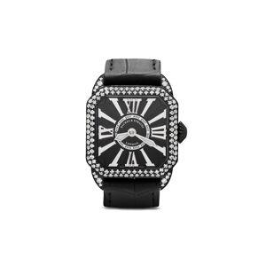 Backes & Strauss Berkeley Diamond Knight horloge - BLACK