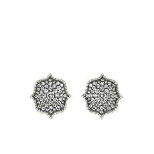 BAYCO Oorbellen met diamant - Metallic