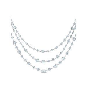 KWIAT Halsketting met diamant - Zilver