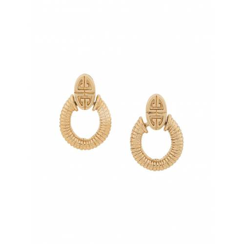 Givenchy Pre-Owned Doorklopper oorbellen - Goud
