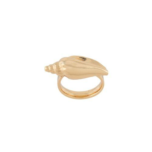 Tohum Ring met schelpen - Goud