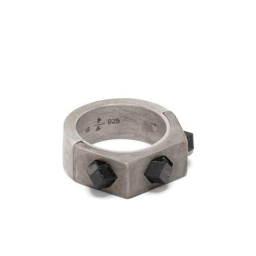 Parts of Four Ring met 3 inzetstukken - Metallic