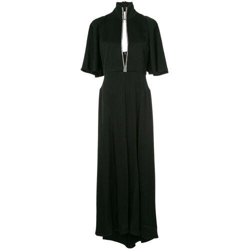 Ellery Mae trechter-hals jurk - Zwart