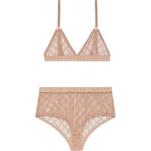 Gucci Lingerieset van tule - Roze