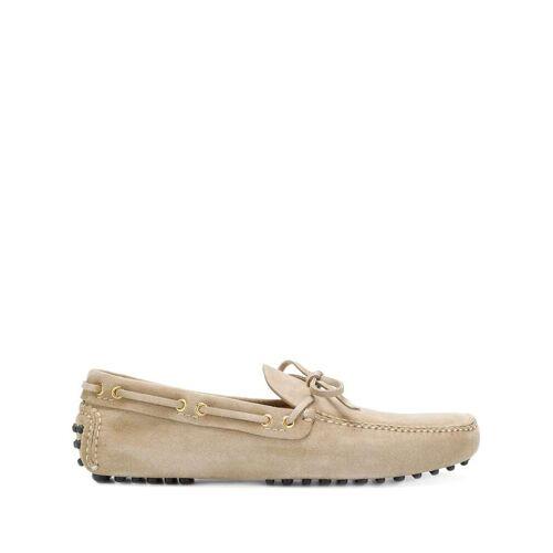 Car Shoe Slip-on rijdende loafers - Nude