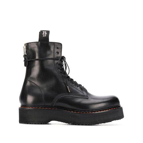 R13 Legerlaarzen - Zwart