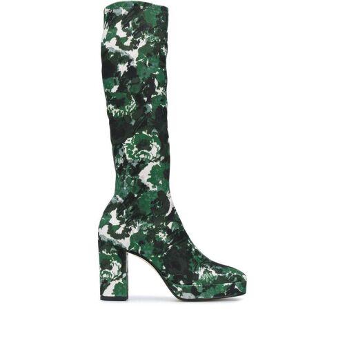 Kenzo Aquarelle knielaarzen - Groen