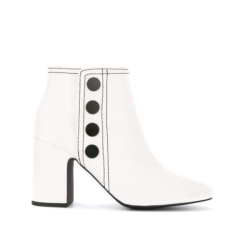 Senso Jace laarzen met drukknopen - Wit