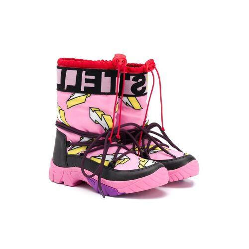 Stella McCartney Kids Sneeuwlaarzen met bliksemschicht - Roze