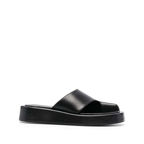 Elleme Cache Cache sandalen met plateauzool - Zwart