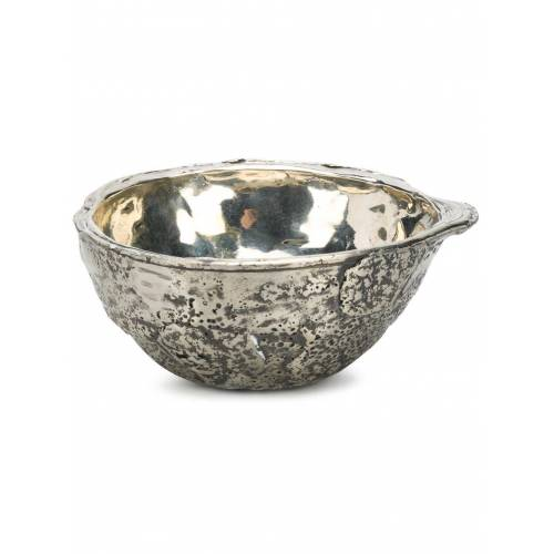 Parts of Four Bronzen kom - Metallic