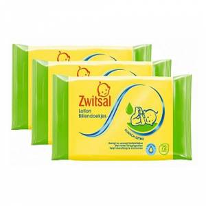 Zwitsal - Linen wipes - 3x72 pcs