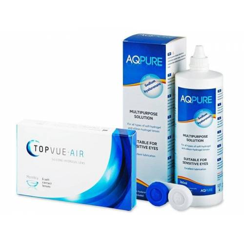 TopVue Air (6 lenzen) + AQ Pure 360 ml