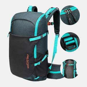 Newchic Men 30L Polyester Waterproof Light Weight Large Capacity Sport Hiking Travel Backpack