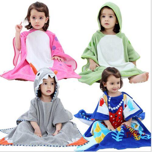 Newchic Cute Cartoon Animal Pattern Kids Bath Robe