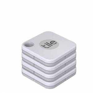 Tile Bluetooth Tracker Mate+ (2020) 4-pack white