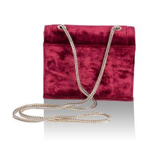 Inyati Eva Crossbodybag burgundy velvet