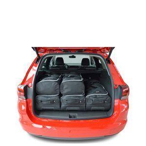 Car-Bags Opel Astra K Sports Tourer (2016-heden) 6-Delige Reistassenset zwart