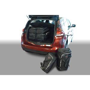 Car-Bags Renault Scénic IV (2016-heden) 6-Delige Reistassenset zwart