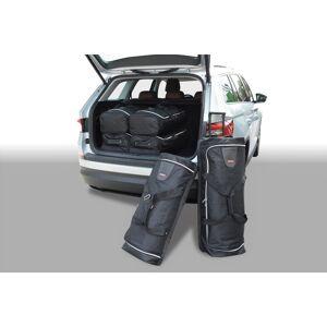 Car-Bags Skoda Kodiaq zits (2017-heden) 6-Delige Reistassenset zwart