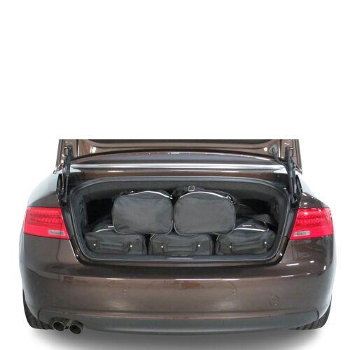 Car-Bags Audi A5 Cabriolet (2009-2016) 6-Delige Reistassenset zwart