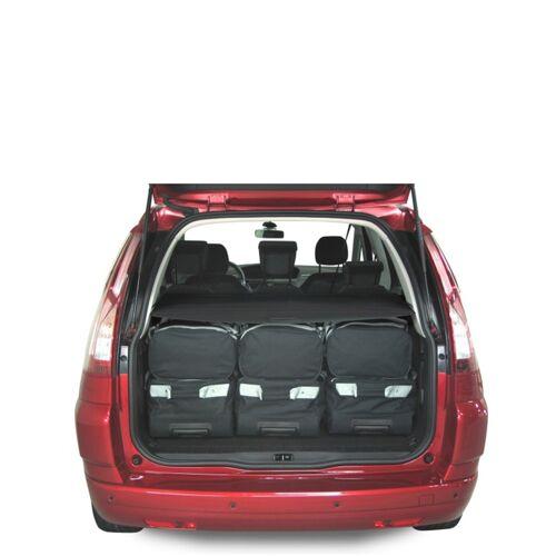 Car-Bags Audi A3 Cabriolet (2013-heden) 6-Delige Reistassenset zwart
