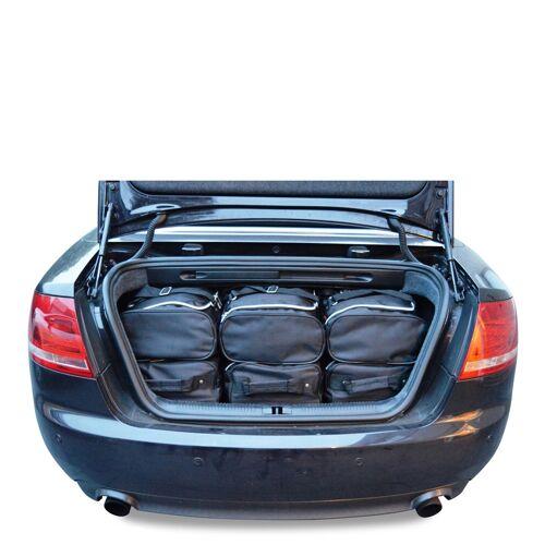 Car-Bags Audi A4 Cabriolet (2001-2008) 6-Delige Reistassenset zwart