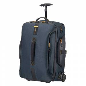 Samsonite Paradiver Light Duffle Wheels Backpack 55 jeans blue