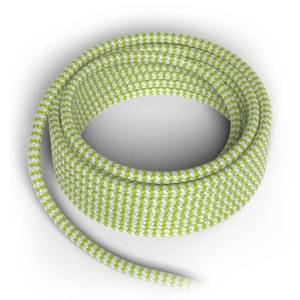 Calex Textielsnoer limegroen wit 300cm (Calex)