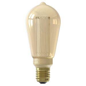 Calex Crown lamp Edison ST64 gold dimbaar (E27, 3,5W, 1800K)