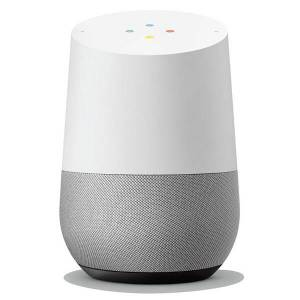 Google Home Smart Speaker Assistant (witgrijs)