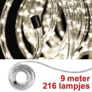 123led Lichtslang 9 meter   warm wit   216 lampjes