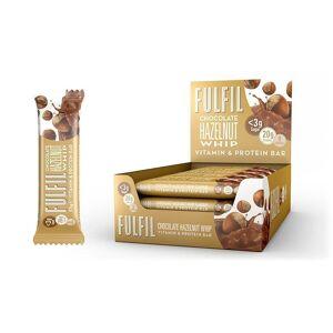 Fulfil Nutrition Fulfil Vitamin & Protein Bar Chocolate Hazelnut Whip (15 x 55 gr)