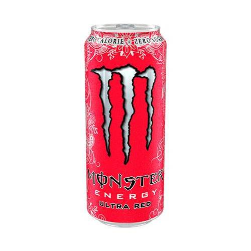 Monster Energy Ultra Ultra Red (1 x 500 ml)