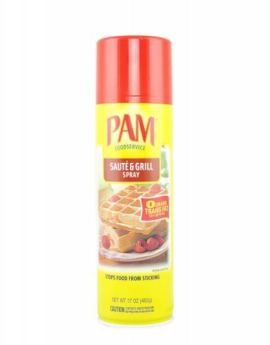 PAM Cooking Spray Saute & Grill ...