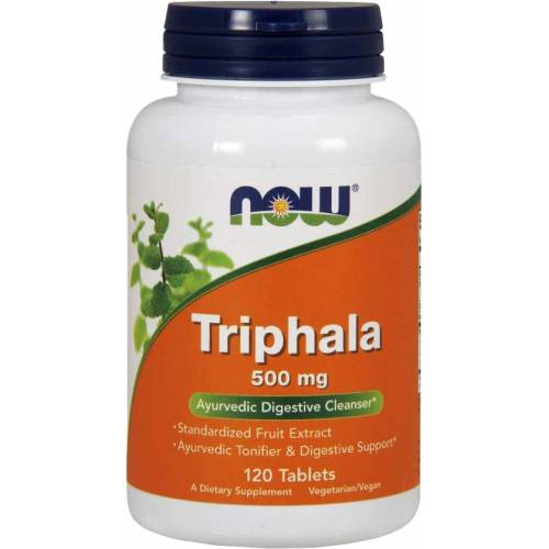 NOW Foods Triphala 500MG (120 tabs)