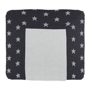 Baby's Only Aankleedkussenhoes Star antraciet/grijs - 75x85